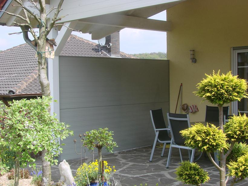 Balkon Windschutz